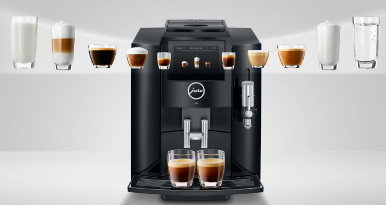 koffiedranken jura S80 koffiemachine