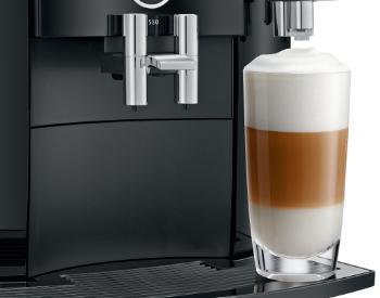 latte macchiato Jura S80 koffiemachine