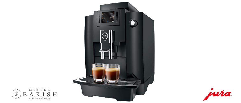 Jura WE6 is de compactste professionele koffiemachine voor zwarte koffie