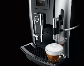 Design Jura we8 professionele koffiemachine