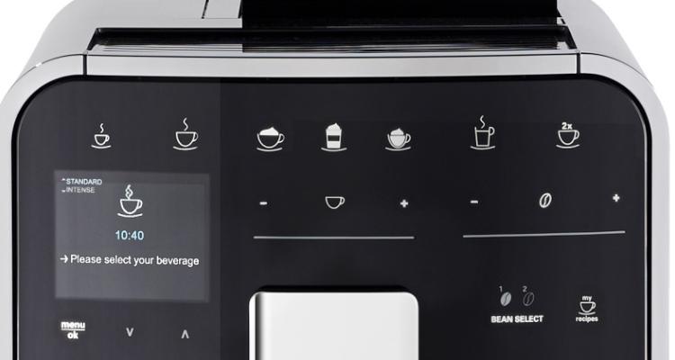 Melitta Barista TS Smart koffiemachine design