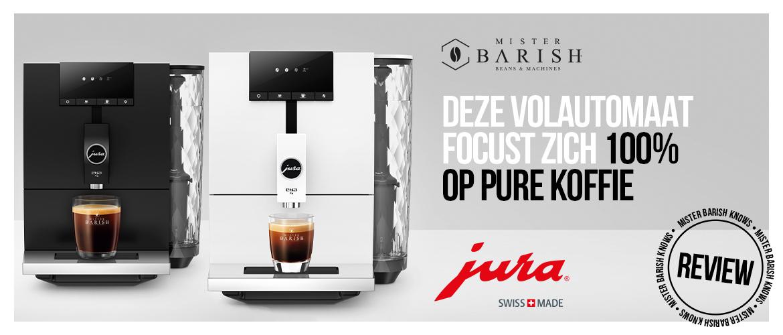 Jura ENA 4 voor de pure koffie drinker