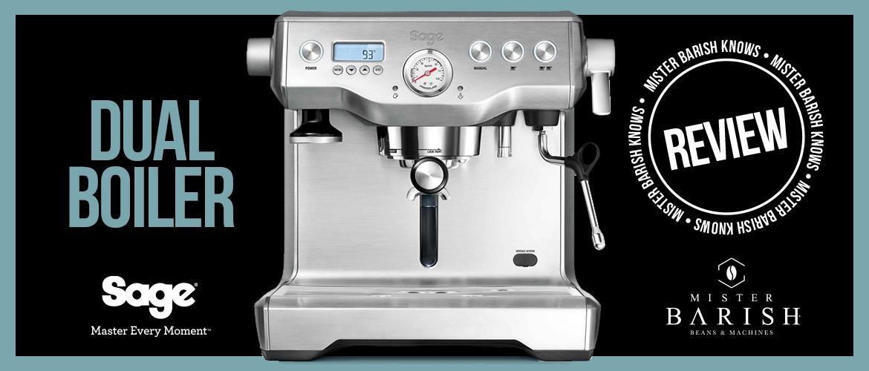 Sage Dual Boiler: een professionele espressomachine voor echte experts