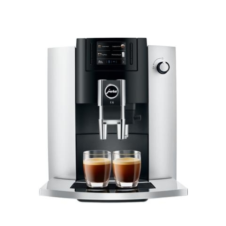 Jura E6 koffiemachine Platin