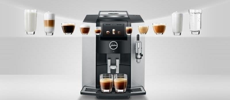 jura koffiemachine bediening