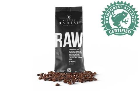 koffiebonen Raw Mister Barish