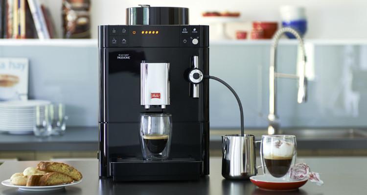 melitta passione koffiemachine ambiance