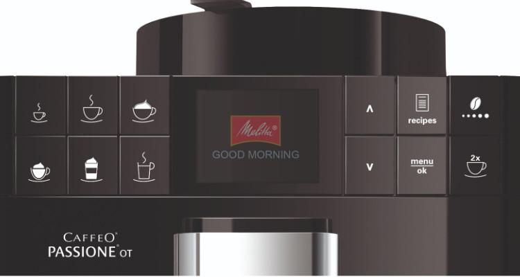 melitta passione OT koffiemachine bediening