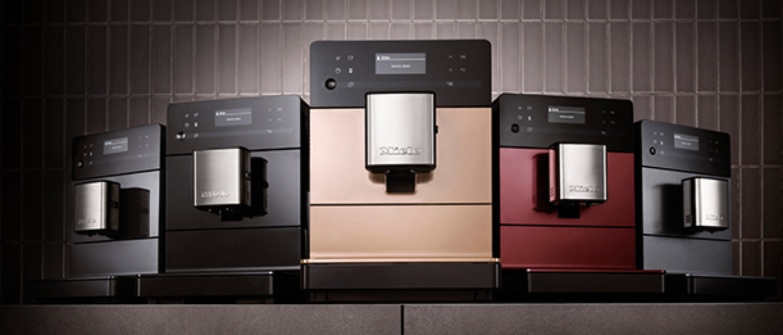 De Miele C5000 serie heeft professionele koffiemachines voor koffieliefhebbers met een kleiner budget