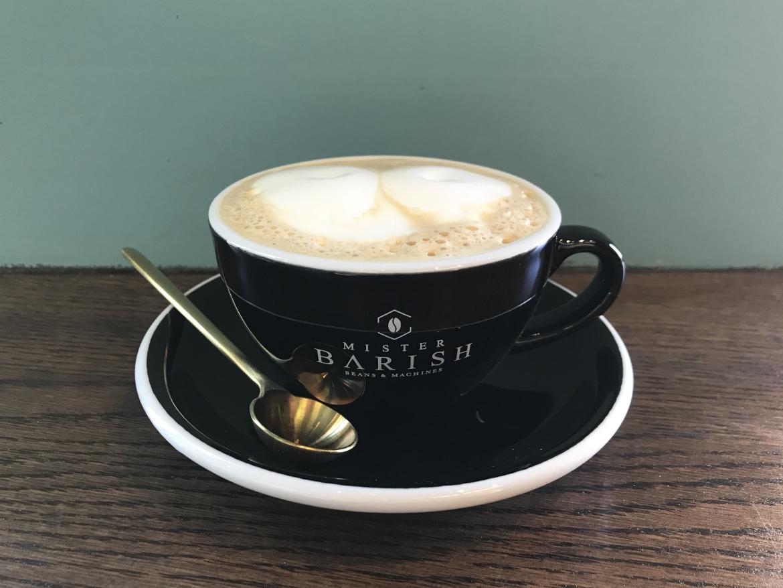 Mister Barish cappuccino