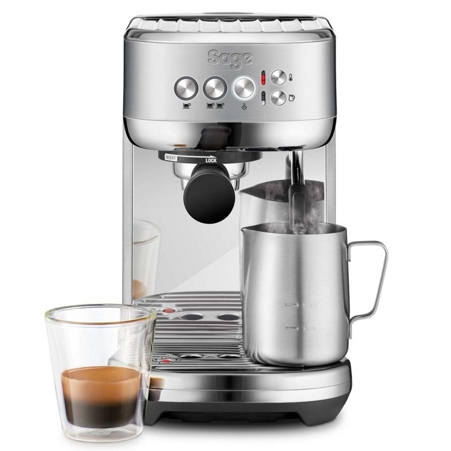 Sage Bambino Plus bean to cup espresso machine koffiedranken