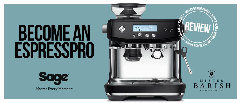Sage Barista Pro: een professionele espressomachine in een compact formaat