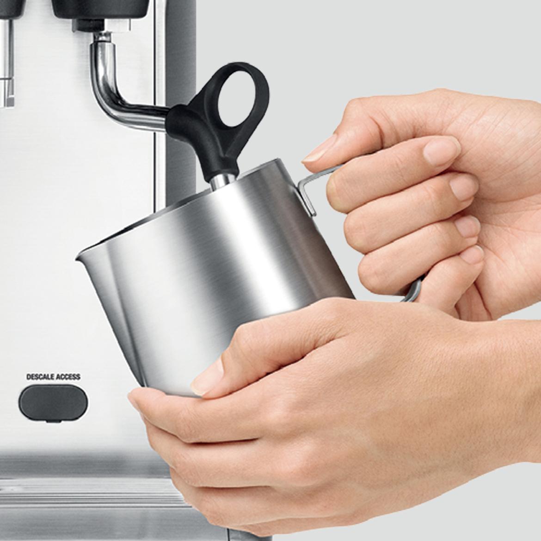 Sage Barista Pro melk opschuimen
