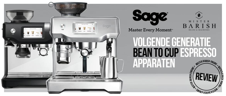 Een Sage koffiemachine kopen? Vijf reviews met tips en koopadvies