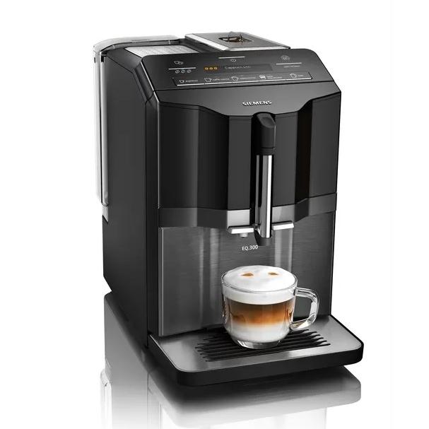 Siemens EQ300 serie koffiemachine Dark Inox