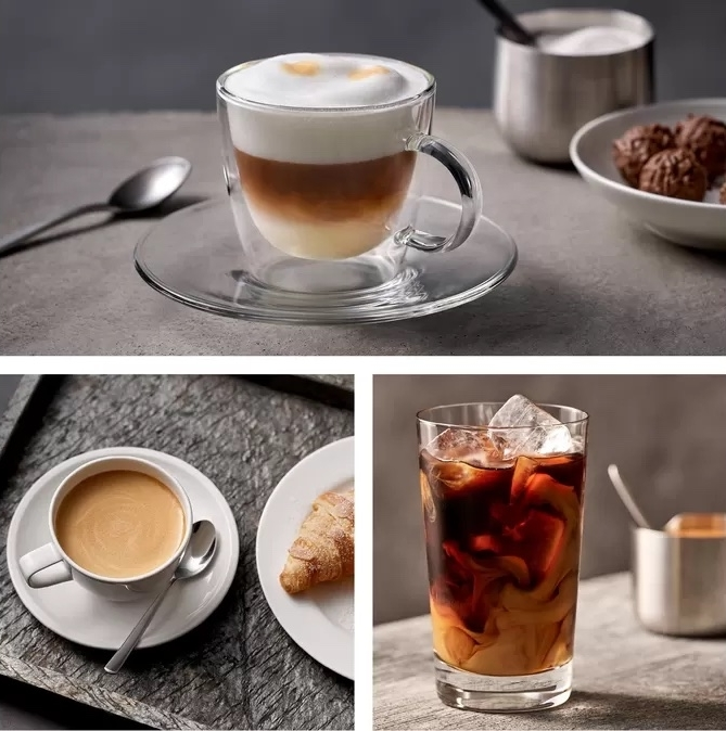 Siemens EQ500 serie koffiemachine koffiedranken