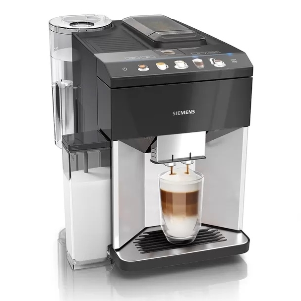 Siemens EQ500 serie koffiemachine Integral Silver