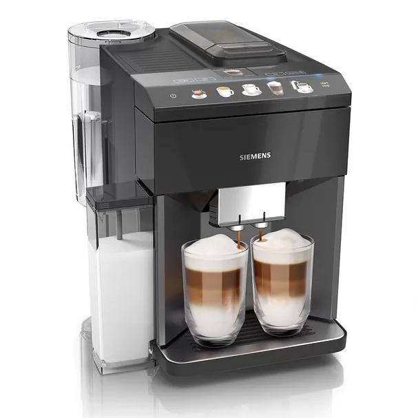 Siemens EQ500 serie koffiemachine Integral Sapphire Black Metallic