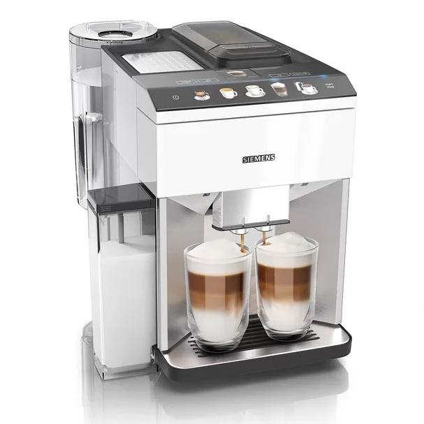 Siemens EQ500 serie koffiemachine Integral Edelstaal - RVS - volledig zilver