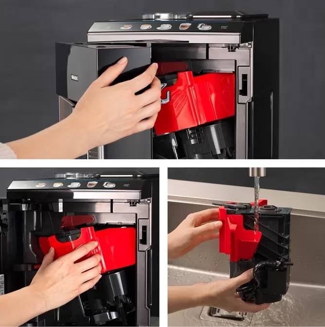 Siemens EQ500 serie koffiemachine zetgroep