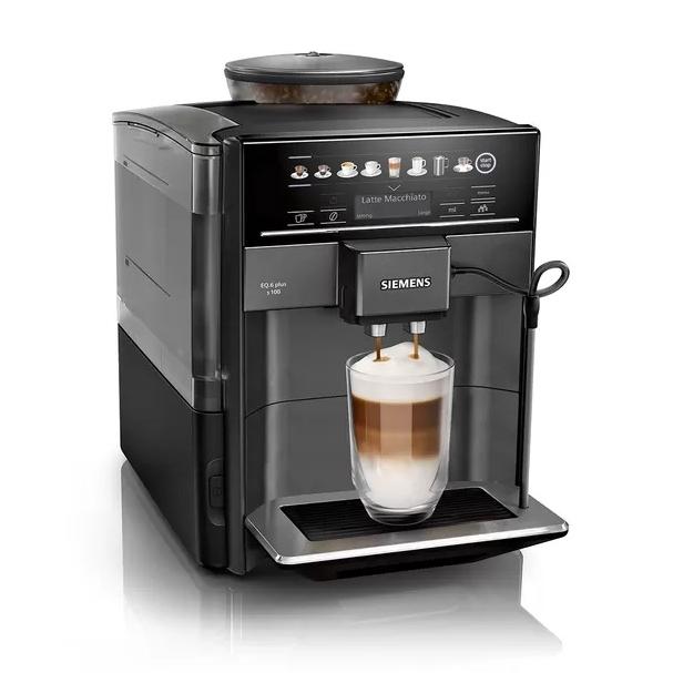Siemens EQ6 serie koffiemachine Plus s100 Sapphire Black Metallic