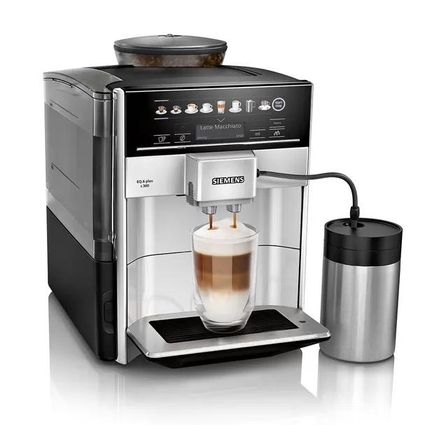 Siemens EQ6 S300 koffiemachine Zilver