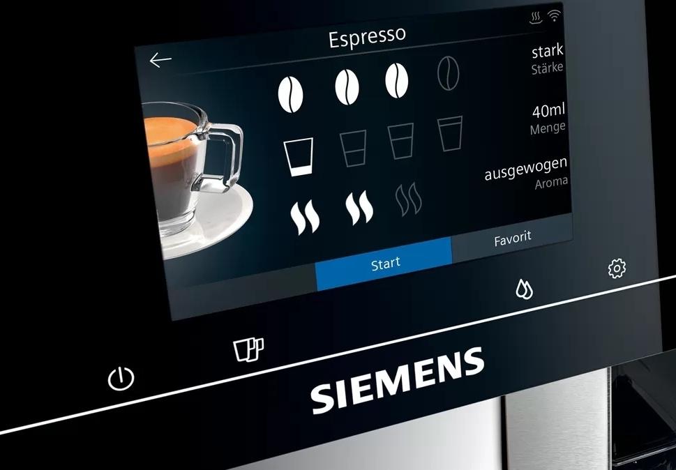 Siemens EQ700 touchscreen