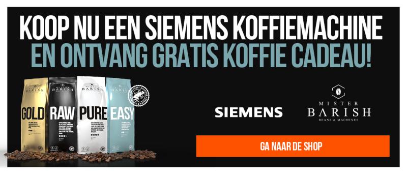 Siemens koffiemachine koffiecadeau