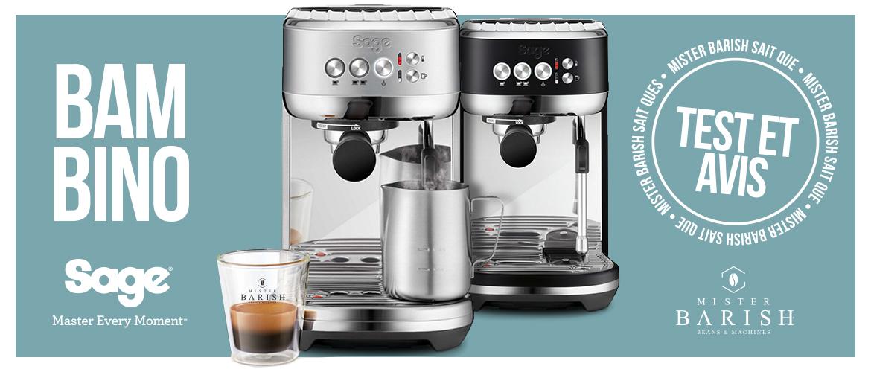 Bambino Plus de Sage : une machine à espresso rapide et ultra-compacte