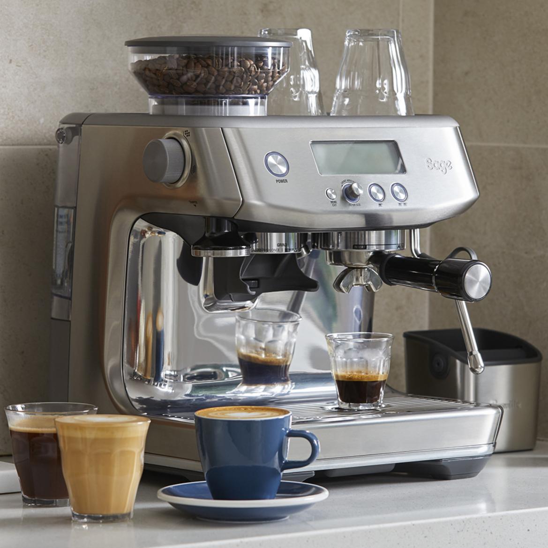 Sage Barista Pro machine à cafe assortiment
