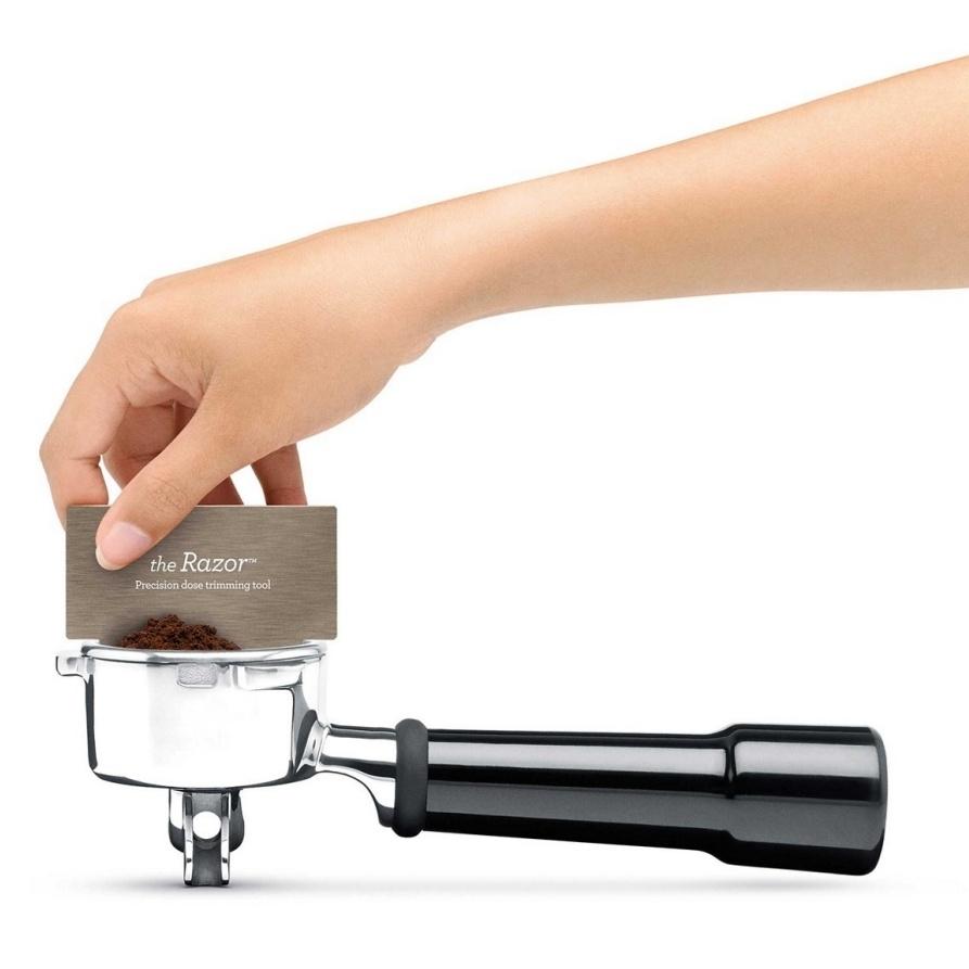 Sage Duo Temp Pro machine à café dosage