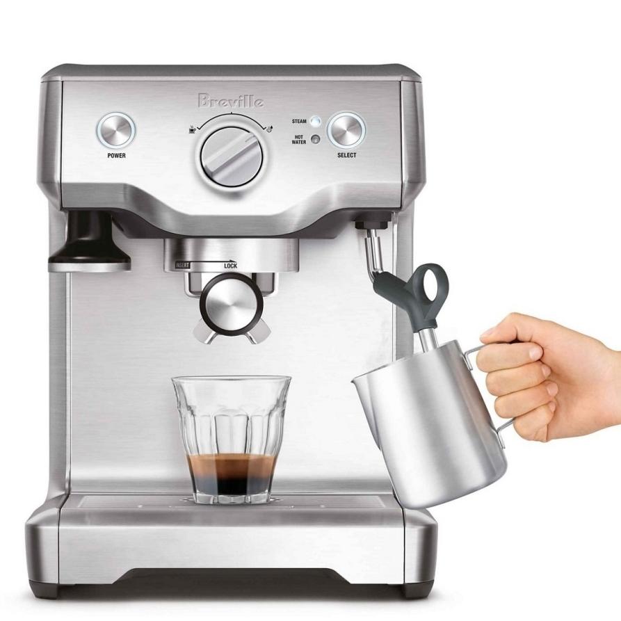 Sage Duo Temp Pro machine à café mousseur à lait