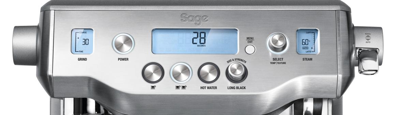 Sage Oracle machine à café écran LCD