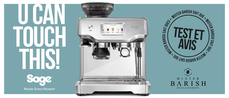 Barista Touch de Sage : la machine à espresso la plus puissante de la gamme Barista