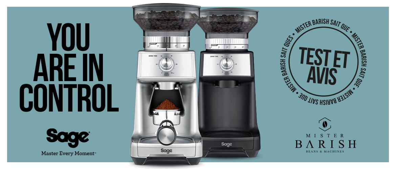 Dose Control Pro de Sage : un moulin à café abordable de qualité professionnelle