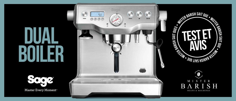 Dual Boiler de Sage : une machine à espresso professionnelle réservée aux experts