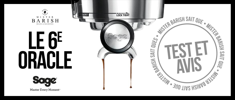 Oracle (Touch) de Sage : l'avenir des machines à espresso automatiques haut de gamme