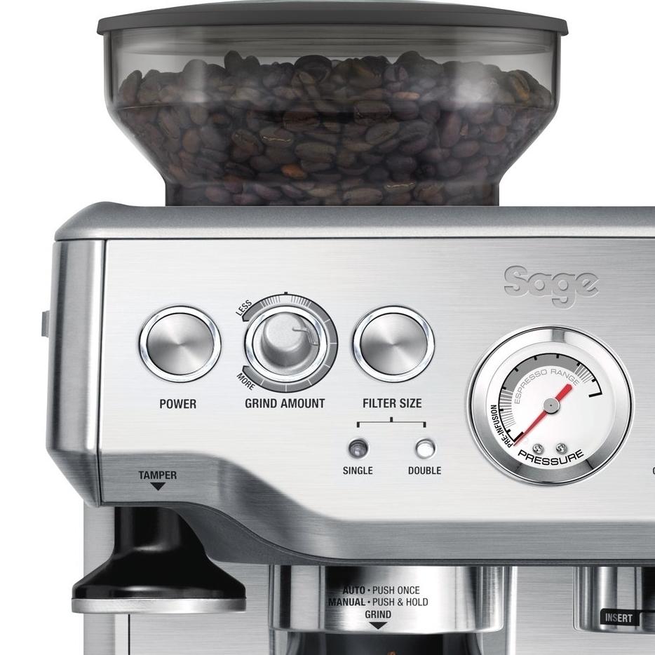barista express machine a cafe utilisation