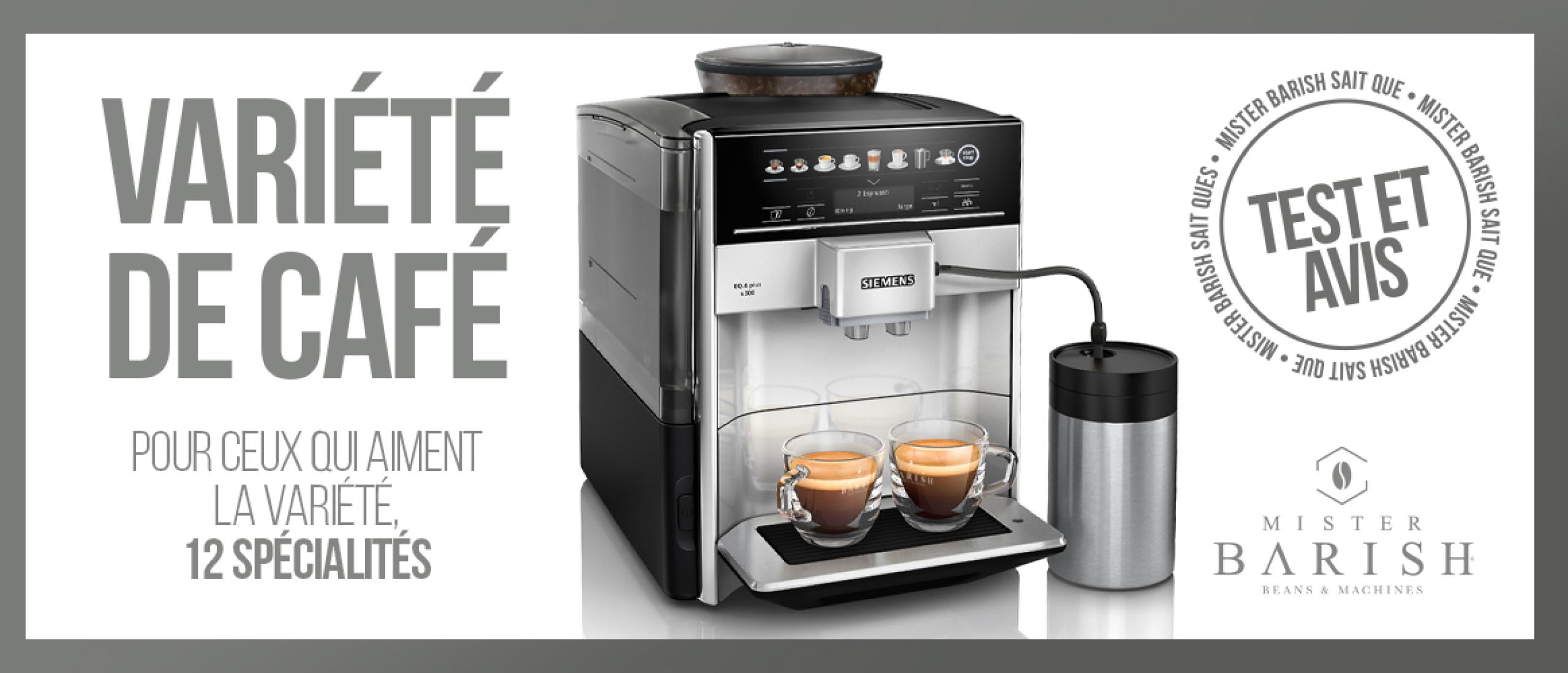 Siemens EQ.6 Plus des machines à café à grain 100 % automatiques pour les plus exigeants