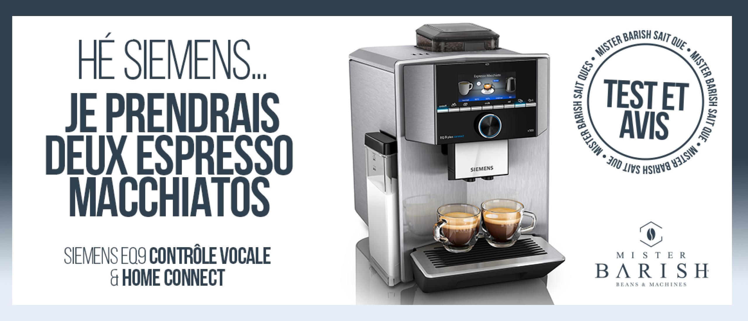 Siemens EQ.9 : des machines à café à grain innovantes et ultra silencieuses pour les véritables amateurs de café