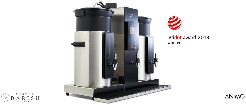 Animo Combi-line is de koffiemachine voor kwaliteit filterkoffie