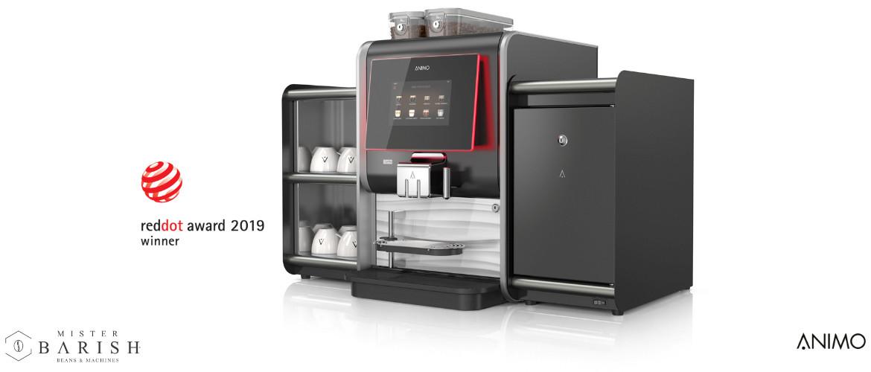 Animo OptiMe waar smaak en design in één professionele koffiemachine samenkomen