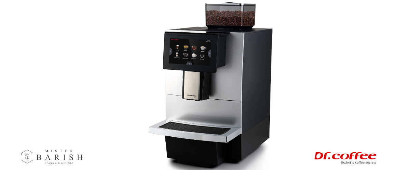 Dr. coffee F11 is dé professionele koffiemachine met de beste prijs kwaliteitverhouding