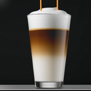 Foammaster bij de Frank A1000 koffiemachine