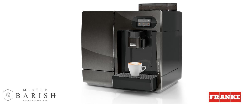Franke A200 voor het perfecte kopje koffie met een mooie melkschuimlaag