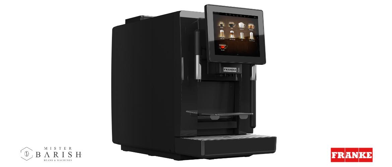 Franke A300 is de compactste en meeste complete professionele koffiemachine