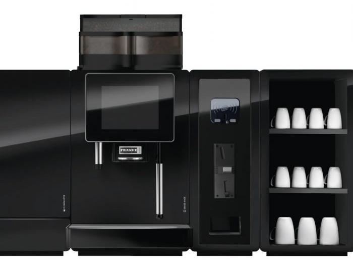 Franke professionele koffiemachines modulair