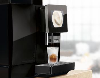 Franke A600 professionele koffiemachine op het werk