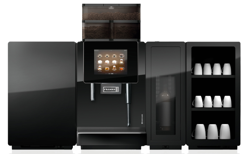 Franke A600 professionele koffiemachine met flavor station