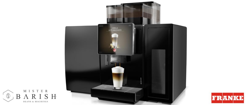 Franke A800 is de professionele koffiemachine voor gevarieerd koffiegenot